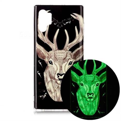 Fly Deer Noctilucent Soft TPU Back Cover for Samsung Galaxy Note 10+ (6.75 inch) / Note10 Plus
