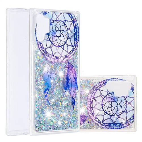 Fantasy Wind Chimes Dynamic Liquid Glitter Quicksand Soft TPU Case for Samsung Galaxy Note 10+ (6.75 inch) / Note10 Plus