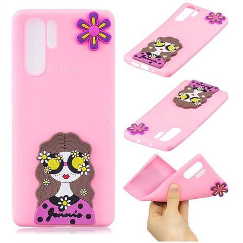 Violet Girl Soft 3D Silicone Case for Samsung Galaxy Note 10+ (6.75 inch) / Note10 Plus