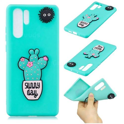 Cactus Flower Soft 3D Silicone Case for Samsung Galaxy Note 10 Pro (6.75 inch) / Note 10+