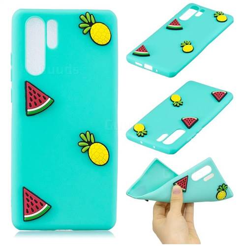 Watermelon Pineapple Soft 3D Silicone Case for Samsung Galaxy Note 10 Pro (6.75 inch) / Note 10+