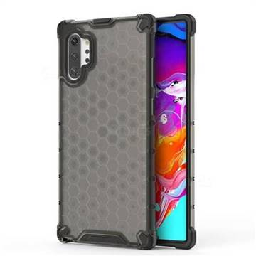 Honeycomb TPU + PC Hybrid Armor Shockproof Case Cover for Samsung Galaxy Note 10+ (6.75 inch) / Note10 Plus - Gray