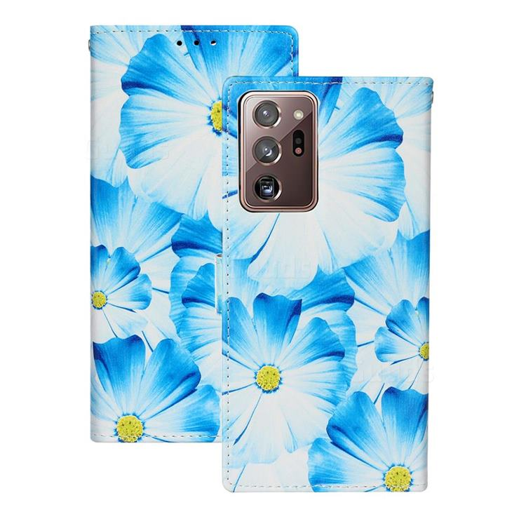 Orchid Flower PU Leather Wallet Case for Samsung Galaxy Note 20 Ultra