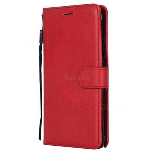 reputable site 07132 c41d1 Retro Greek Classic Smooth PU Leather Wallet Phone Case for Samsung Galaxy  Note 4 - Red