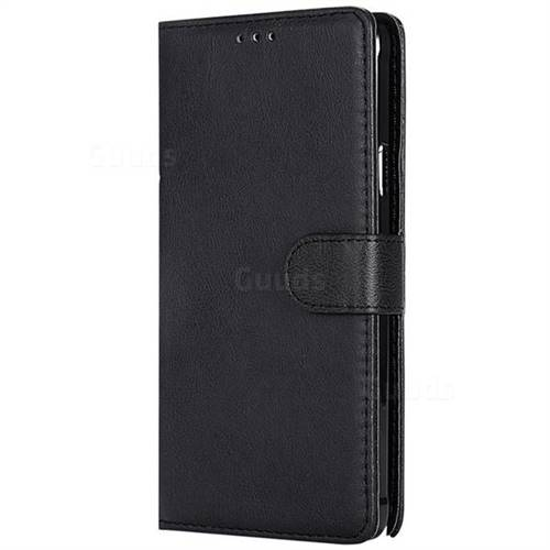 sports shoes b0b4d ccfbb Retro Greek Detachable Magnetic PU Leather Wallet Phone Case for Samsung  Galaxy Note 4 - Black