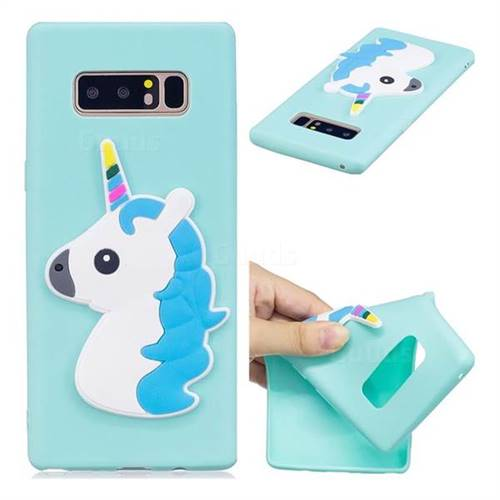 Unicorn Soft 3D Silicone Case for Samsung Galaxy Note 8