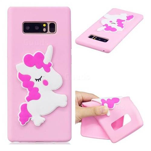 Pony Soft 3D Silicone Case for Samsung Galaxy Note 8