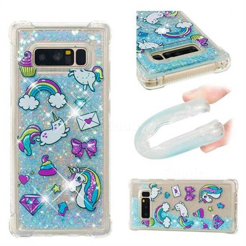 samsung note 4 case unicorn glitter