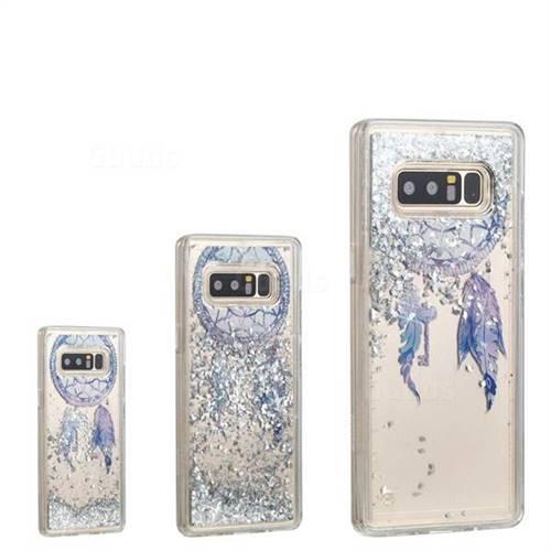 Fantasy Wind Chimes Dynamic Liquid Glitter Quicksand Soft TPU Case for Samsung Galaxy Note 8