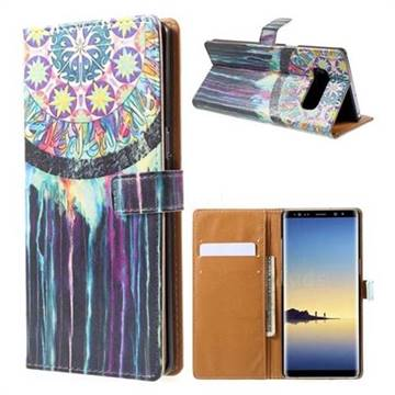 Dream Catcher Leather Wallet Case for Samsung Galaxy Note 8