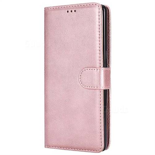quality design d7663 ae74f Retro Greek Detachable Magnetic PU Leather Wallet Phone Case for Samsung  Galaxy Note 8 - Rose Gold