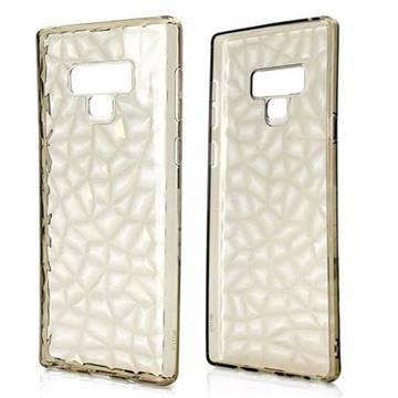 Diamond Pattern Shining Soft TPU Phone Back Cover for Samsung Galaxy Note9 - Gray