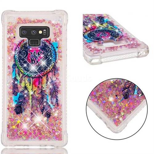 Seal Wind Chimes Dynamic Liquid Glitter Sand Quicksand Star TPU Case for Samsung Galaxy Note9