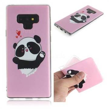Heart Cat IMD Soft TPU Cell Phone Back Cover for Samsung Galaxy Note9