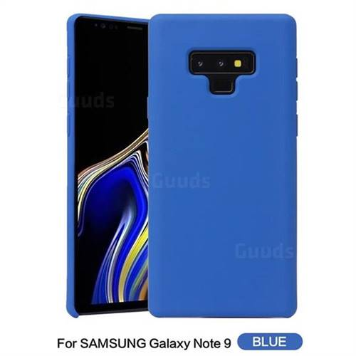 45babe7bd82 Howmak Slim Liquid Silicone Rubber Shockproof Phone Case Cover for Samsung  Galaxy Note9 - Sky Blue