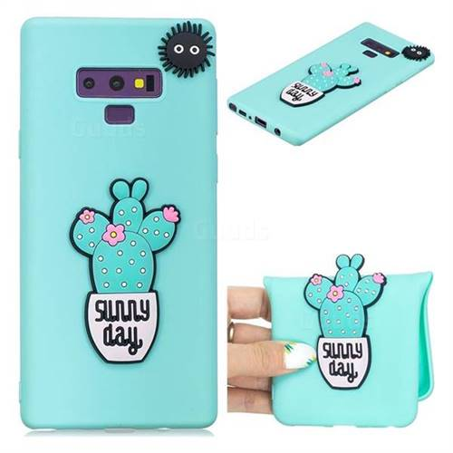 Cactus Flower Soft 3D Silicone Case for Samsung Galaxy Note9