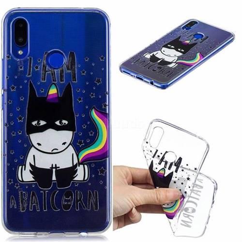 Batman Clear Varnish Soft Phone Back Cover for Huawei P Smart+ (Nova 3i)