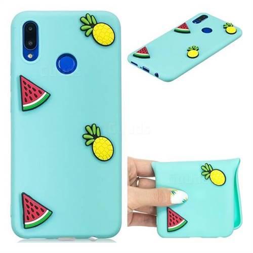 Watermelon Pineapple Soft 3D Silicone Case for Huawei P Smart+ (Nova 3i)