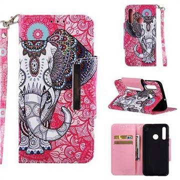 Totem Jumbo Big Metal Buckle PU Leather Wallet Phone Case for Huawei Nova 3i
