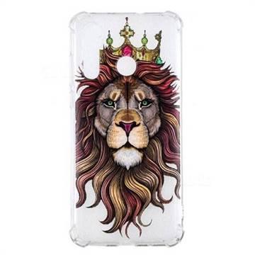Lion King Anti-fall Clear Varnish Soft TPU Back Cover for Huawei nova 4