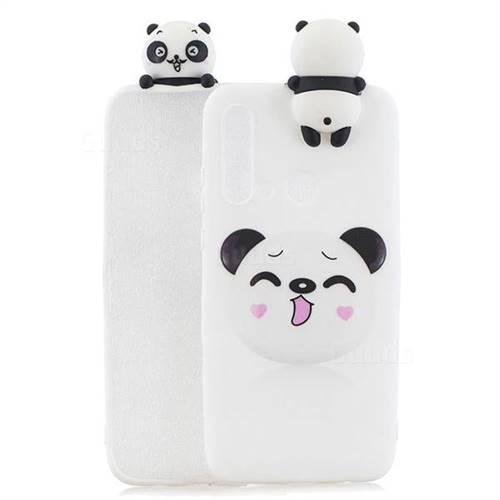 Smiley Panda Soft 3D Climbing Doll Soft Case for Huawei nova 5i
