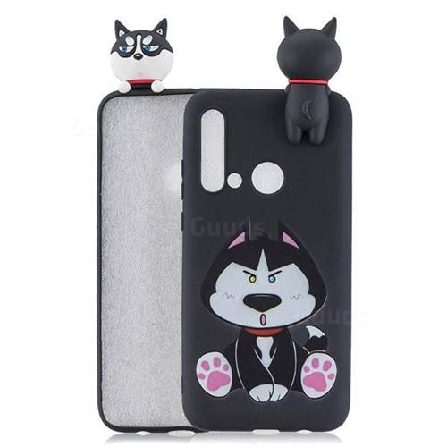 Staying Husky Soft 3D Climbing Doll Soft Case for Huawei nova 5i
