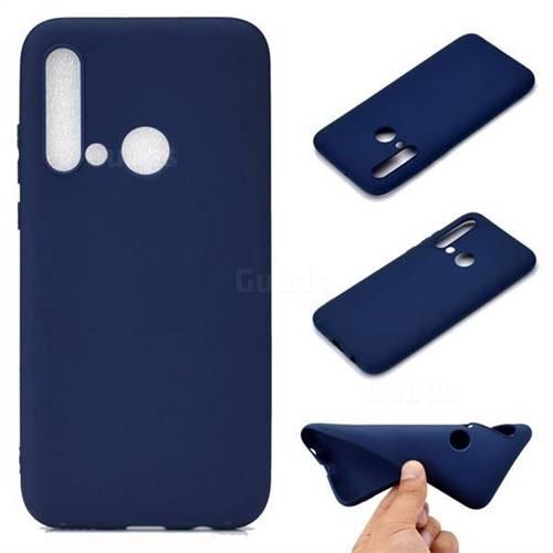 Candy Soft TPU Back Cover for Huawei nova 5i - Blue