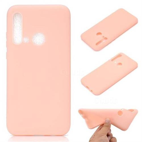 Candy Soft TPU Back Cover for Huawei nova 5i - Pink