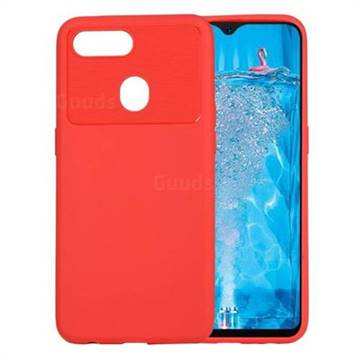 best loved 03e49 e46e7 Carapace Soft Back Phone Cover for Oppo F9 (F9 Pro) - Red
