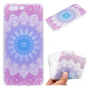 Colored Mandala Super Clear Soft TPU Back Cover for OnePlus 5
