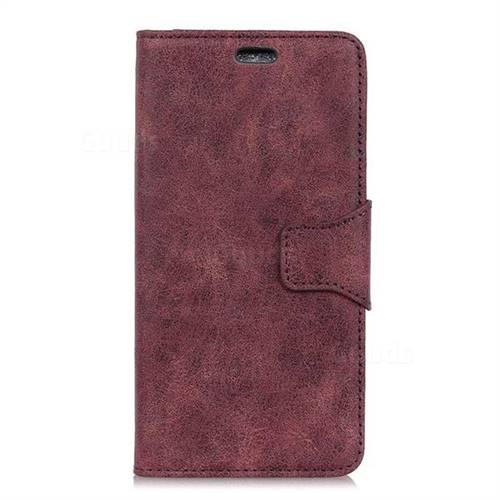 official photos bcd78 71284 MURREN Luxury Retro Classic PU Leather Wallet Phone Case for OnePlus 5 -  Purple