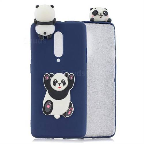 Giant Panda Soft 3D Climbing Doll Soft Case for OnePlus 7 Pro