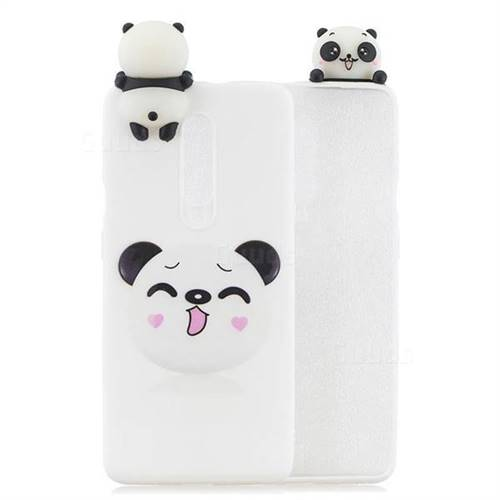 Smiley Panda Soft 3D Climbing Doll Soft Case for OnePlus 7 Pro