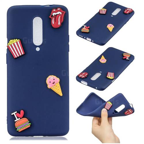 I Love Hamburger Soft 3D Silicone Case for OnePlus 7 Pro