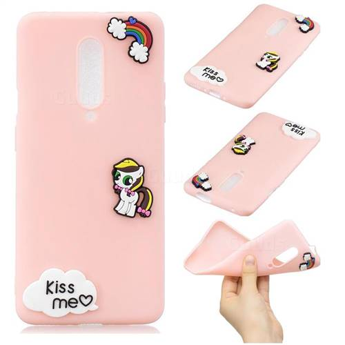 Kiss me Pony Soft 3D Silicone Case for OnePlus 7 Pro