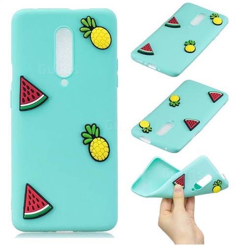 Watermelon Pineapple Soft 3D Silicone Case for OnePlus 7 Pro