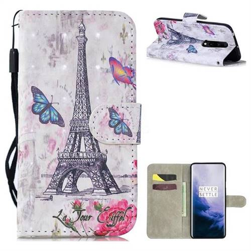 Paris Tower 3D Painted Leather Wallet Phone Case for OnePlus 7 Pro -  OnePlus 7 Pro Cases - Guuds