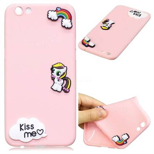 Kiss me Pony Soft 3D Silicone Case for Oppo R9s