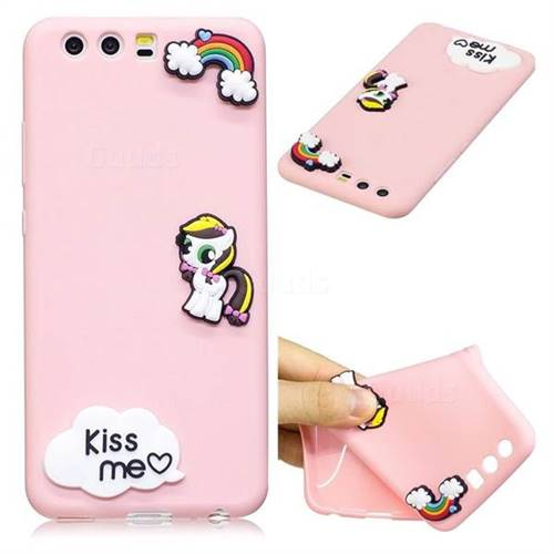 Kiss me Pony Soft 3D Silicone Case for Huawei P10