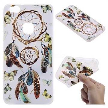 Color Wind Chimes 3D Relief Matte Soft TPU Back Cover for Huawei P10 Lite P10Lite