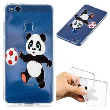 Football Panda Super Clear Soft TPU Back Cover for Huawei P10 Lite ...