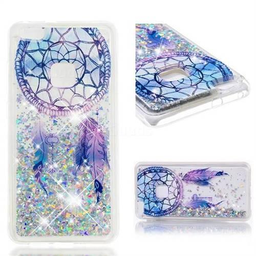 Dynamic Liquid Glitter Quicksand Soft TPU Case for Huawei P10 Lite P10Lite - Fantasy Wind Chimes