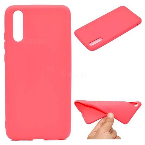 Red Candy Soft TPU Back Cover for Huawei P20