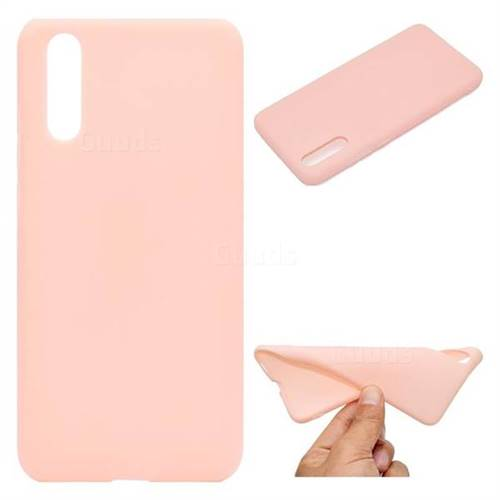 Pink Candy Soft TPU Back Cover for Huawei P20