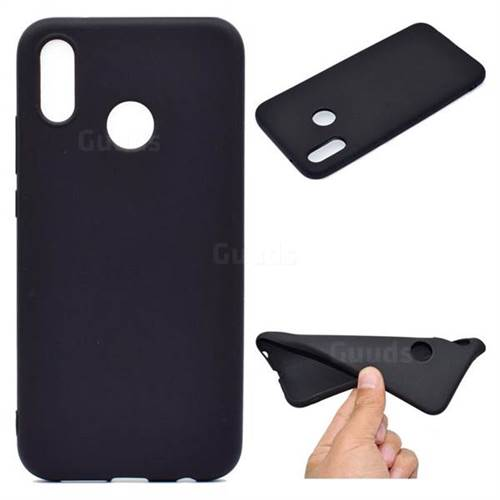 Black Candy Soft TPU Back Cover for Huawei P20 Lite