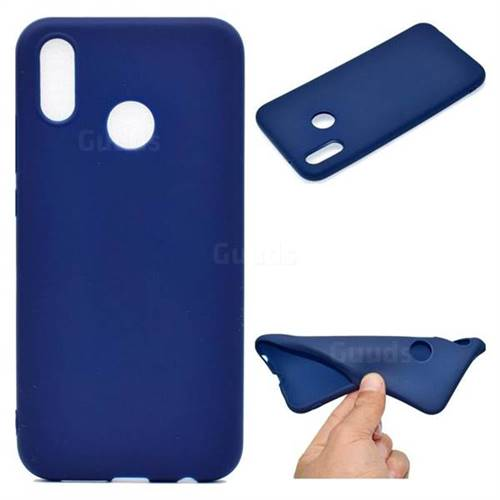 Blue Candy Soft TPU Back Cover for Huawei P20 Lite