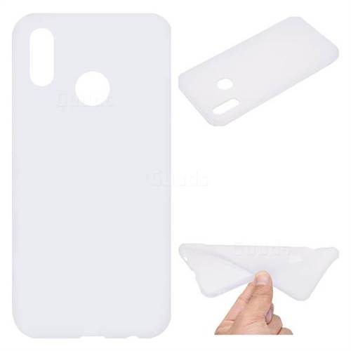 White Candy Soft TPU Back Cover for Huawei P20 Lite