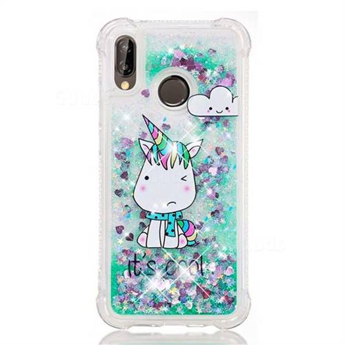Glitter Unicorn Huawei Phone Case