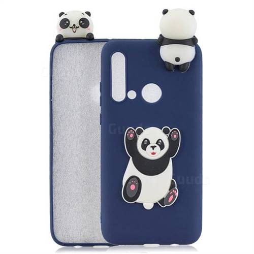 Giant Panda Soft 3D Climbing Doll Soft Case for Huawei P20 Lite(2019)