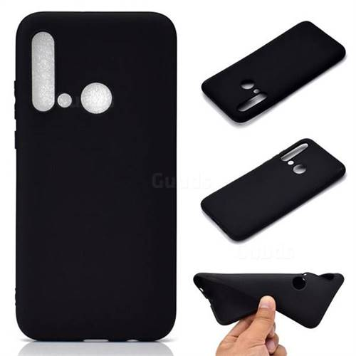 Candy Soft TPU Back Cover for Huawei P20 Lite(2019) - Black